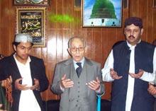 Elder brother of Qudwat-ul-Aulia Sayyinda Tahir Alauddin al-Qadri al-Gillani passes away