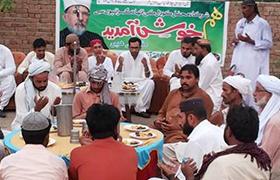 احمد پور سیال، ڈاکٹر زبیر اے خان کی معروف سیاسی شخصیات سے ملاقات