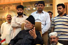 عوام کرپٹ حکمرانوں کو انقلاب کے ذریعے کک آؤٹ کر دیں گے، ڈاکٹر طاہرالقادری کی اسلام آباد الیکٹرانک میڈیا کے نمائندگان سے گفتگو