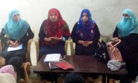 منہاج القرآن ویمن لیگ کی ہزارہ ڈویژن میں تحصیلی عہدیداران سے میٹنگز