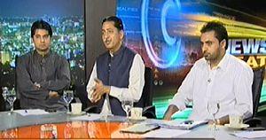 News Beat on Samaa News (Islamabad May Foj Ko Police Kay Ikhteyaraat...)