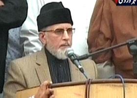 ایکسپریس نیوز: عوامی تحریک کے سربراہ ڈاکٹر طاہرالقادری نے 20 مطالبات پیش کردیے