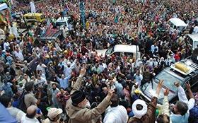 انقلاب مارچ،  ڈاکٹر طاہرالقادری کا ملک بھر میں دھرنوں کا اعلان
