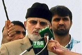 Our struggle is 100pc constitutional and legal: Tahirul Qadri