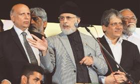 Govt negotiators 'non-serious': Qadri