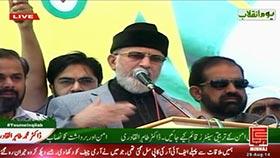 Fiery Qadri denies PM Nawaz, Nisar's claims on army intervention