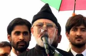 Qadri urges Pakistanis to block roads across Pakistan