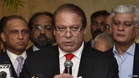 BBC News: Pakistan PM Nawaz Sharif is named as a murder suspect