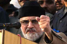 Shut Khursheed Shah's mouth or things will go too far: Dr Tahirul Qadri