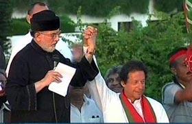 Army not behind Azadi & Revolution Marches: Dr Tahir-ul-Qadri