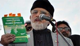 Dr Tahir ul Qadri questions PM's incumbency after murder case