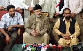 Qadri for revolution through poor's 'wealth'