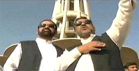 Dr Raheeq Abbasi reviews 'Inqilab in Lahore' Jalsa arrangements at Minar-e-Pakistan