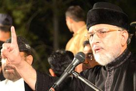 اسلام آباد : انقلاب مارچ سے ڈاکٹر طاہرالقادری کی گفتگو - 29 ستمبر 2014