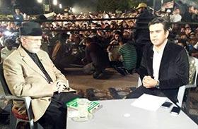 ڈاکٹر طاہرالقادری کا دنیا نیوز پر رحمان اظہر کے ساتھ انٹرویو - 11 اکتوبر 2014