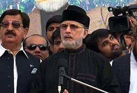 Lahore supports PAT's Inquilab, says Qadri