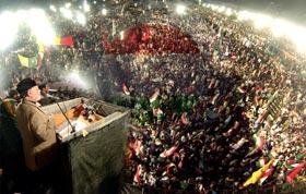 Qadri demands national govt with 'Ehtesab mandate'