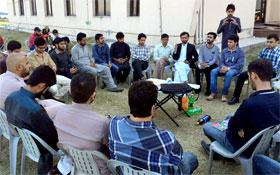 یونیورسٹی آف گجرات میں ایم ایس ایم کے سابق صدر شکیل وڑائچ کے اعزاز میں فیئرویل پارٹی