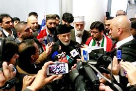 میری واپسی حکومت پاکستان اور ڈیل کا دعوی کرنے والوں کے منہ پرطمانچہ ہے، ڈاکٹر طاہرالقادری