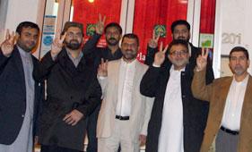 فرانس: پاکستان عوامی تحریک کے دھرنے میں شریک افراد کے اعزاز میں گرینڈ ڈنر