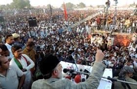 Give me two-thirds majority, I'll change the system: Dr Tahir ul Qadri