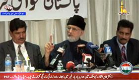 ڈاکٹر طاہرالقادری کا نیویارک میں ''سمندر پار پاکستانیوں کے جمہوری حقوق'' کے سیمینار سے خطاب (09 نومبر 2014)