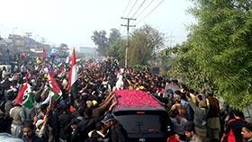 ڈان نیوز: ڈاکٹر طاہرالقادری کی وطن واپسی (20 نومبر 2014)