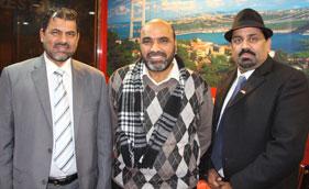 فرانس: حاجی محمد اسلم کے اعزاز میں عشائیہ