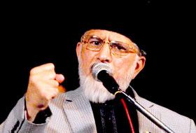 دہشت گردوں سے مذاکرات نہیں انہیں صرف ختم کیا جائے: ڈاکٹر طاہرالقادری