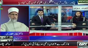 ARY News: Dr Tahir-ul-Qadri's Special Talk on Peshawar Attack