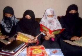ٹوبہ ٹیک سنگھ: منہاج القرآن وویمن لیگ کی طرف سے سانحہ پشاور کے شہداء کے لئے قرآن خوانی