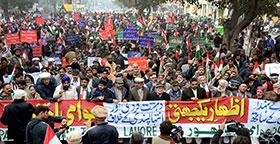 پاکستان عوامی تحریک کی شہدائے پشاور کے ساتھ اظہار یکجہتی اور دہشت گردی کیخلاف ریلیز