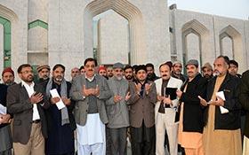 قائداعظم محمد علی جناح کے یوم پیدائش کے موقع پر دعائیہ تقریب