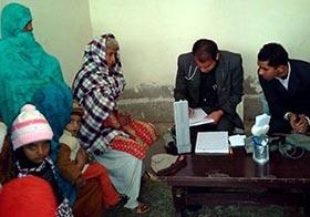 پاکپتن شریف: منہاج ویلفیئر فاؤنڈیشن کے زیراہتمام فری میڈیکل کیمپ