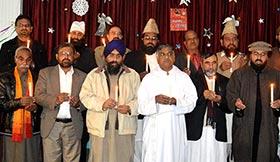 سال 2015 کے لیے مختلف مذاہب کے قائدین کی ملکی سلامتی و خوشحالی کیلئے اجتماعی دعا