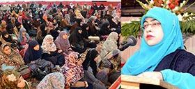 منہاج القرآن ویمن لیگ کے زیراہتمام ضیافت میلاد مصطفیٰ صلی اللہ علیہ وآلہ وسلم