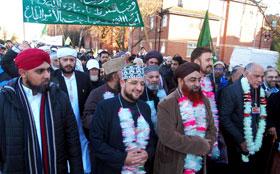 مانچسٹر: علامہ محمد ہارون عباسی کا ویکٹوریہ مسجد میں محفل میلادالنبی (ص) سے خصوصی خطاب