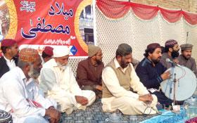 لودہراں: تحریک منہاج القرآن کے زیراہتمام محفل میلاد النبی صلی اللہ علیہ وآلہ وسلم