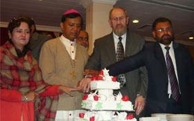 لاہور: ڈائریکٹر انٹرفیتھ ریلیشنز کی سال نو کی تقریب میں شرکت