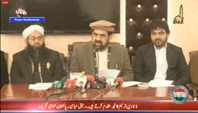 Dr Raheeq Abbasi addresses press conference