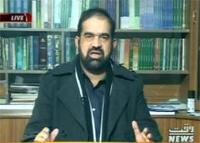 Dr Raheeq Abbasi with Ehtisham-ur-Rahman in Waqt Special on Waqt News