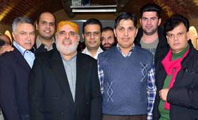 آسٹریا: خواجہ محمد نسیم کے اعزاز میں عشائیہ تقریب