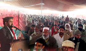 Dr Raheeq Abbasi addresses Workers Convention in Bhakkar