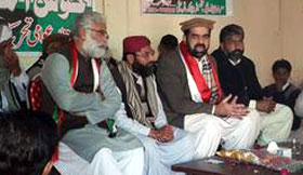 Dr Raheeq Abbasi addresses Workers Convention in Muzaffargarh