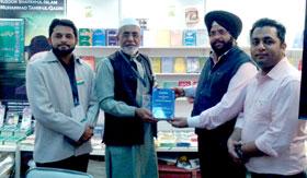 MQI Baroda (India) participates in Delhi World Book Fair