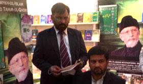 منہاج القرآن انٹرنیشنل کے وفد کی دلی میں ''عالمی کتاب میلہ'' میں شرکت