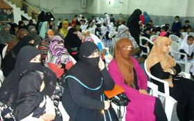 جہلم: پاکستان عوامی تحریک ویمن ونگ کے زیراہتمام قائد ڈے تقریب
