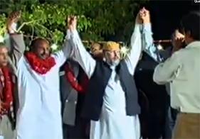 لاہور: مسیحی کمیونٹی کی طرف سے ڈاکٹر طاہر القادری کا شاندار استقبال
