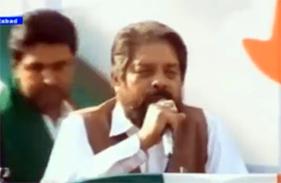 مسیحی رہنما جے سالک کا ایبٹ آباد جلسہ سے خطاب