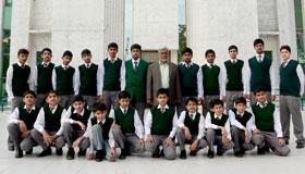 مصطفوی ماڈل سکول کے طلبہ کا منہاج القرآن سیکرٹریٹ کا تعلیمی دورہ
